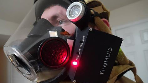 FireHUD device close up