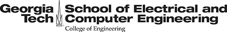 GT ECE Black Logo with College of Engineering descriptor