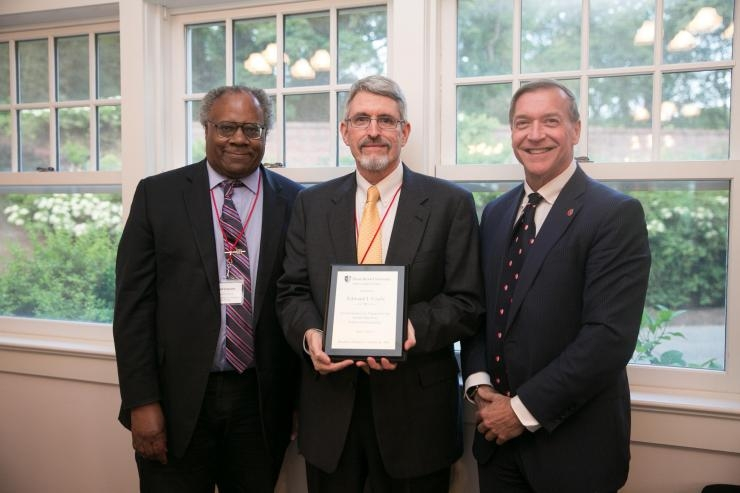 Edward J. Coyle presented with award at SUNY Industry Conference and Showcase