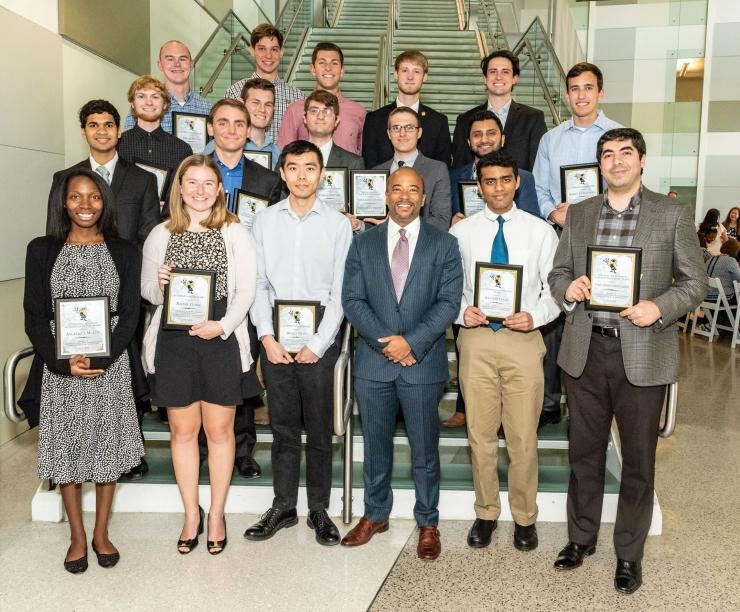 ECE Undergraduate Award Winners - 2018 Roger P. Webb Awards Program