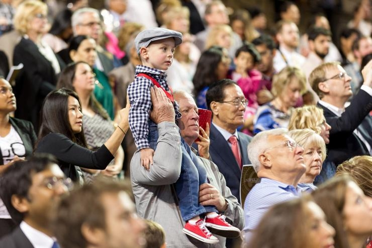 Child at Graduation