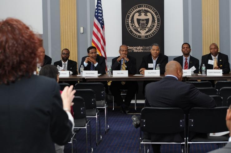 Georgia Tech showcases African-American men in STEM at DC roundtable