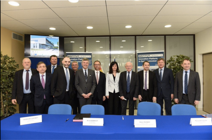 Institut Lafayette and AIXTRON Sign Agreement