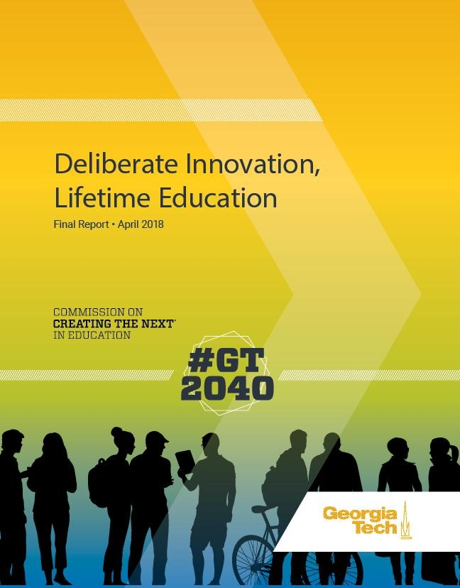 Deliberate Innovation Lifetime Education Report Cover