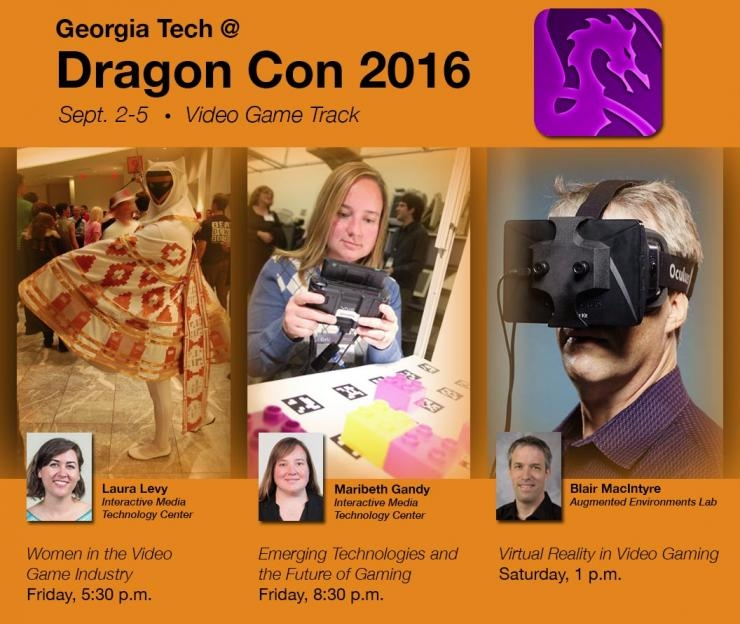 Dragon Con 2016 - Video Gaming track