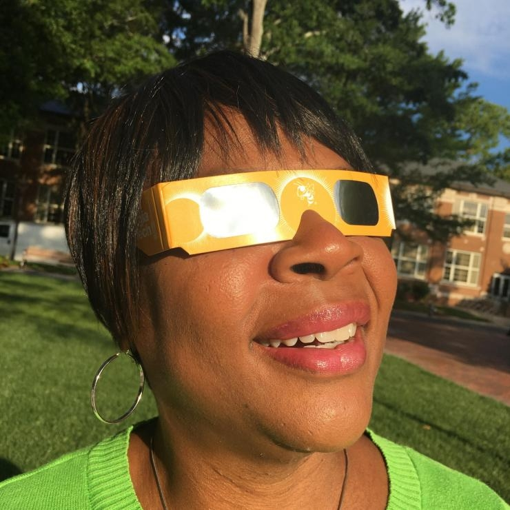 Eclipse-safe eyewear (Photo by Maureen Rouhi)