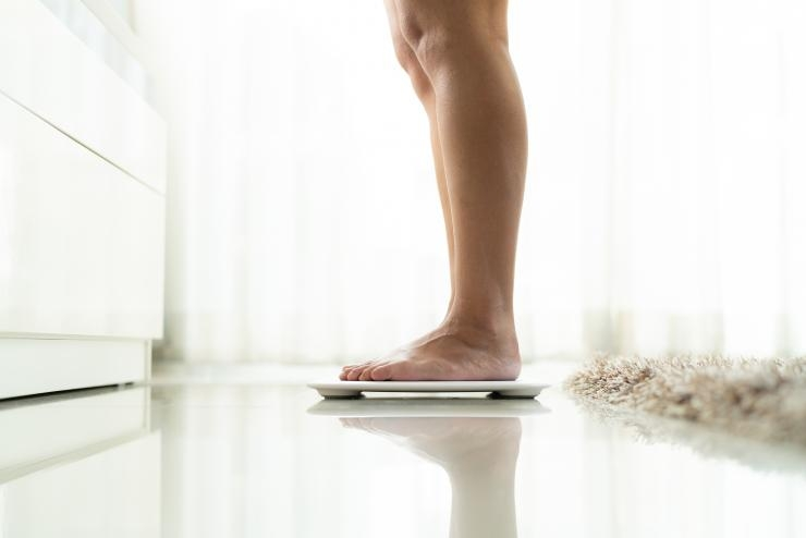 Bathroom scale Getty Images