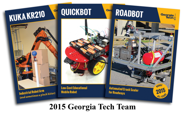 2015 GT Robot Trading Cards