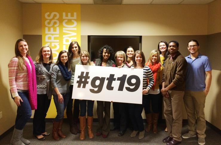 Admission Staff Welcomes #gt19 Class