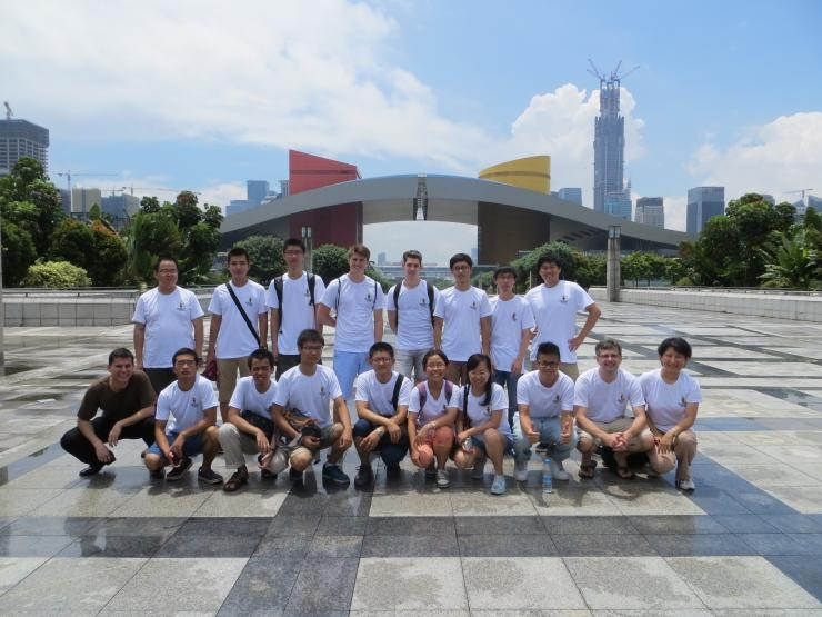 Georgia Tech-Shenzhen students and faculty