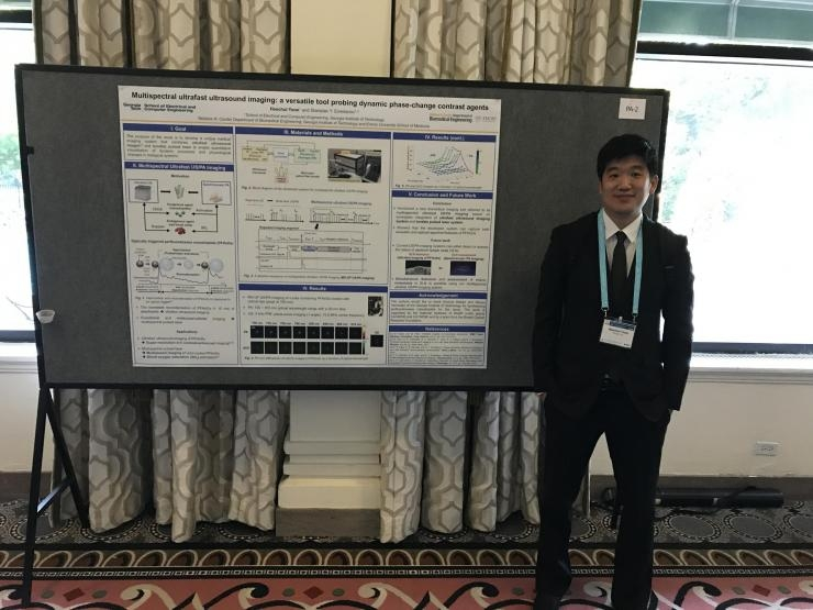 Heechul Yoon at the 2017 IEEE International Ultrasonics Symposium