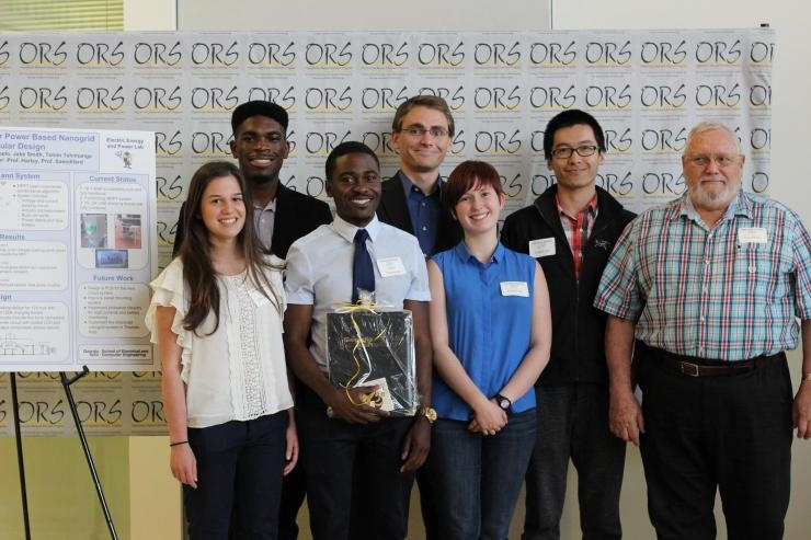 ORS 1st Place Research Award Winning Team