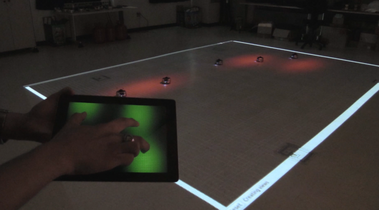 Tablet and robot system