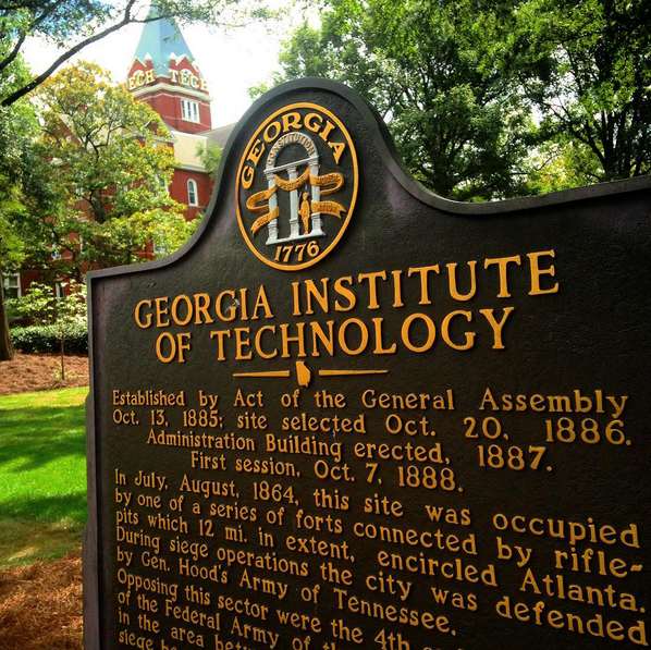 Georgia Tech Historical Marker