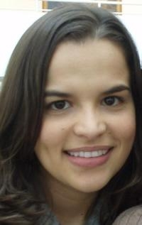Ana Yepes, master's student in the School of Elect