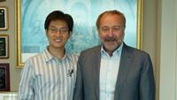 photo of Ian Akyildiz and Zhi Sun