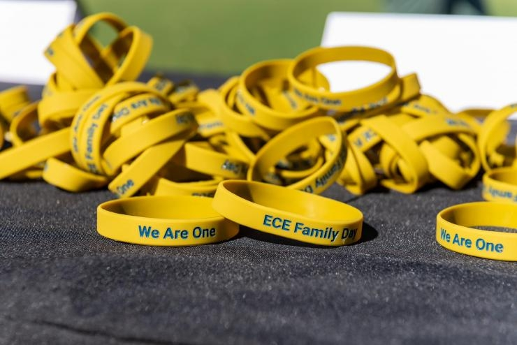 ECE Family Day wristbands